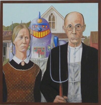 Ralph Allen Massey, 'American Gothic 1930, After Grant Wood', ca. 2018