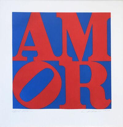 Robert Indiana, 'Amor', 1994