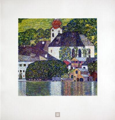 Gustav Klimt, 'Church on Lake Wolfgang [Gustav Klimt An Aftermath]', 1931