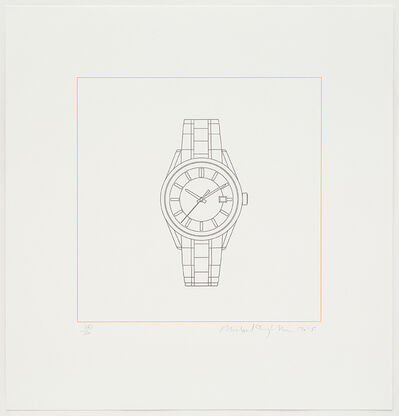 Michael Craig-Martin, 'Watch', 2015