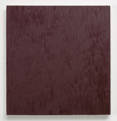 Marcia Hafif, 'Late Roman Painting: Caput Mortuum Tint', 1996
