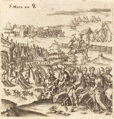 Léonard Gaultier, 'The Entry into Jerusalem', probably c. 1576/1580