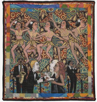 Faith Ringgold, 'American Collection #4: Jo Baker's Bananas', 1997