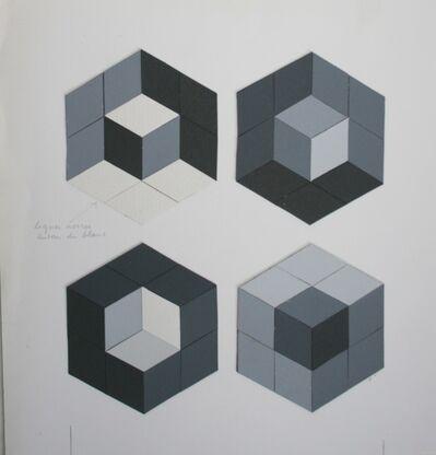 Victor Vasarely, 'Tridim-Q', 1977