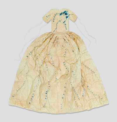 Lesley Dill, 'Poem Dress of Circulation', 1994