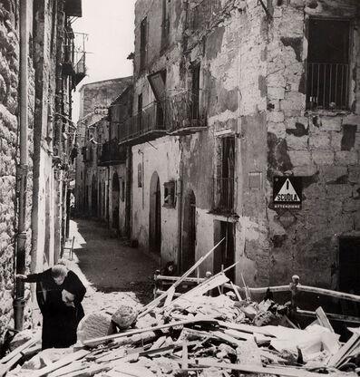 "Robert Capa, '""Scarred Agrigento""', 1943"
