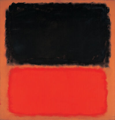 Mark Rothko, 'Untitled (Black and Orange on Red)', 1962