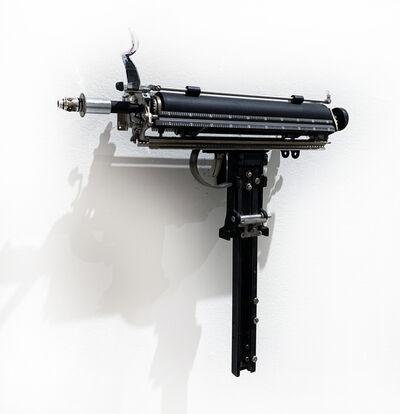 Ravi Zupa, 'MIGHTIER THAN--SUBMACHINE GUN', 2019