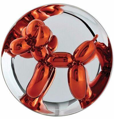 Jeff Koons, ' Orange Balloon Dog', 2015