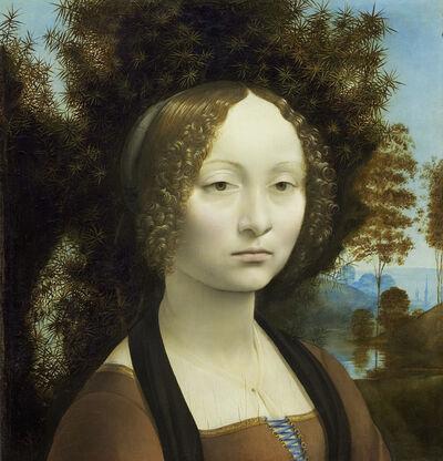 Leonardo da Vinci, 'Ginevra de' Benci [obverse]', 1474-1478