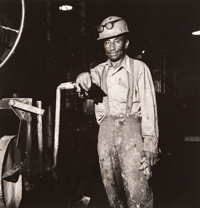 """Milton Rogovin, 'Untitled, from the series, """"Working People: Amherst Foundry""""', 1979"""