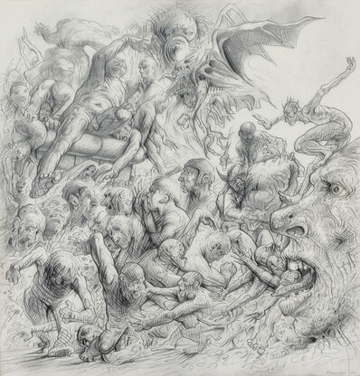 Peter Howson, 'Carnival', 2005