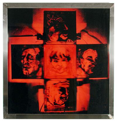 Isack Kousnsky, 'Political Confusion (Cross #7)', 1991
