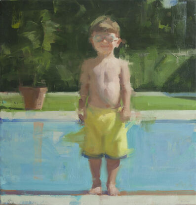 David Shevlino, 'Adam by the Pool', 2013