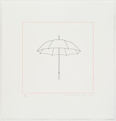 Michael Craig-Martin, 'Umbrella', 2015