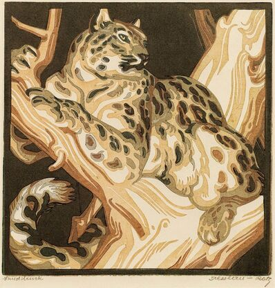 Norbertine Bresslern-Roth, 'Snow Leopard', 1947