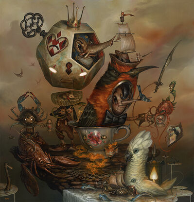 Greg 'Craola' Simkins, 'My Specialty is Special Tea', 2015