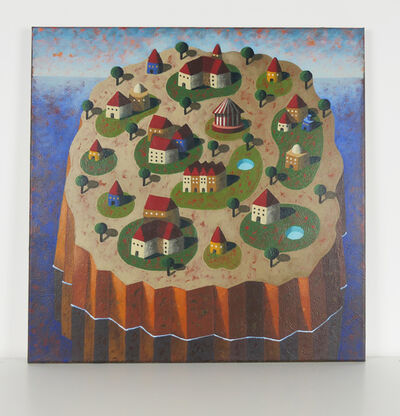 Jordi Pintó, 'The green island', 2021