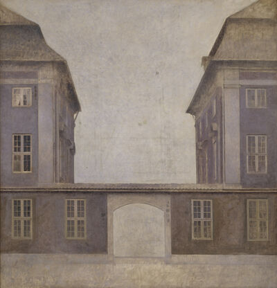 Vilhelm Hammershøi, 'The Buildings of the Asiatic Company, seen from St. Annæ Street ', 1902
