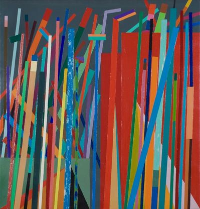 Robert S. Neuman, 'A Wall of Twigs Can Build a Song', 1967-1970