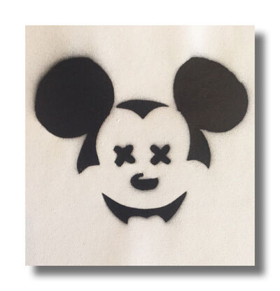 After Banksy, 'Dismal Mickey', 2015