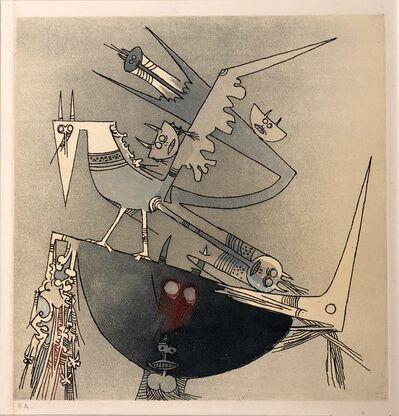 Wifredo Lam, '1978 Aquatint etch E.A. by Wifredo Lam for Terre d'Europe show', 1978