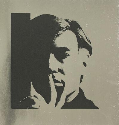 Andy Warhol, 'Andy Warhol Self Portrait on Silver Metallic Paper', 1988