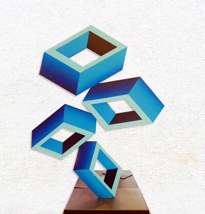 Daniel Sanseviero, 'Blue Perspective (Large)', 2019