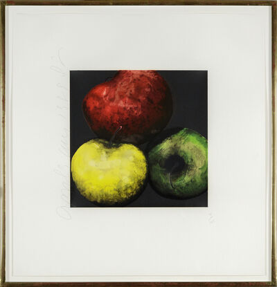 Donald Sultan, 'Fruits and Flowers (Apples)', 1989