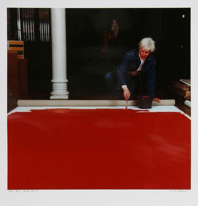 Curtis Knapp, 'Andy Warhol Red Series 3 ', 1983 (Printed 2004)