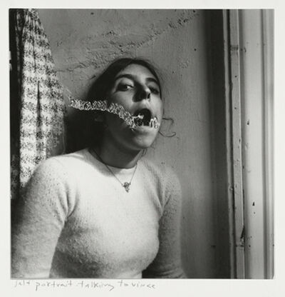 Francesca Woodman, 'Self-portrait talking to Vince, Providence, Rhode Island', 1977