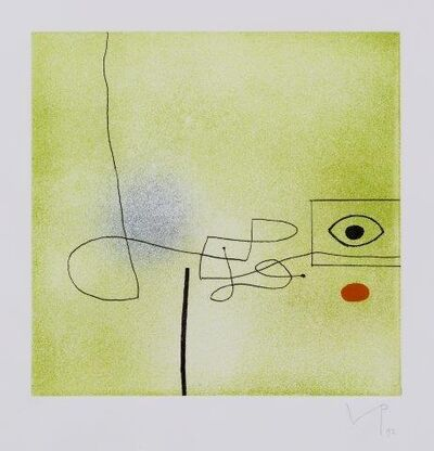 Victor Pasmore, 'Images on the Wall', 1992