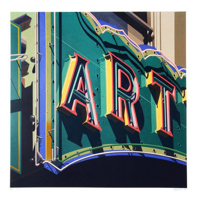 Robert Cottingham, 'American Signs Portfolio (Art)', 2009