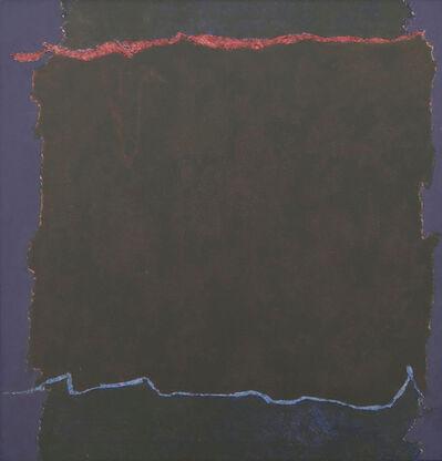Theodoros Stamos, 'Infinity Field, Lefkada Series, For Caspar David Friedrich', 1980-81
