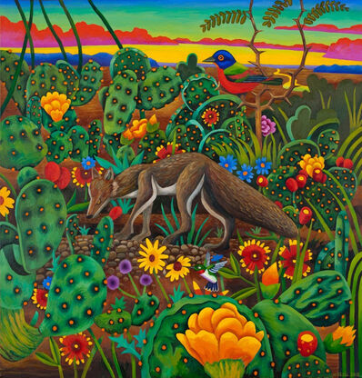 Billy Hassell, 'Fox in a Cactus Patch', 2015