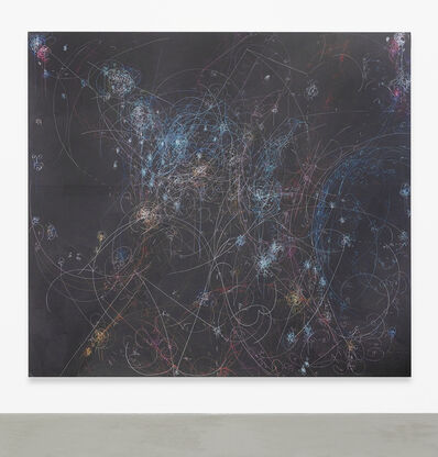 Kysa Johnson, 'blow up 363 - the long goodbye - subatomic decay patterns and red giant in NGC 3293', 2018