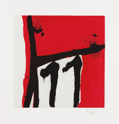 Robert Motherwell, 'Mexican Night II', 1984