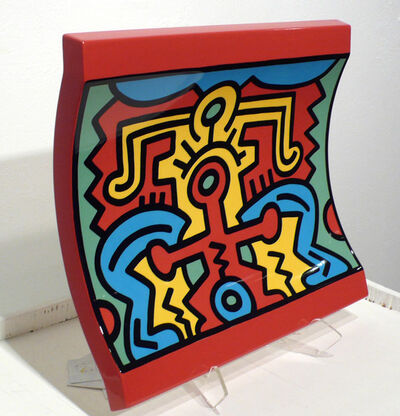 Keith Haring, 'No. 2 Spirit of Art, New York-Soho Centerpiece', 1992