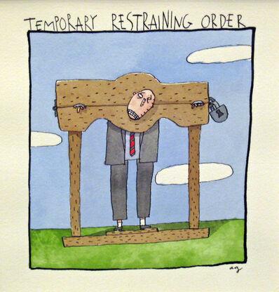 Alan Gerson, 'Temporary Restraining Order', 2009
