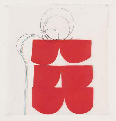 Vicki Sher, 'Spring Formal, Red', 2021