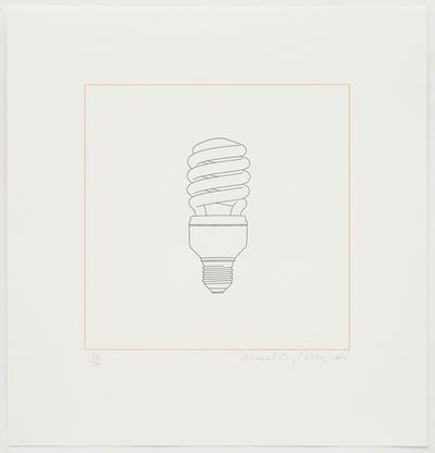 Michael Craig-Martin, 'Light bulb', 2015