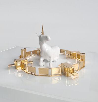 Jonathan Monaghan, 'The Unicorn in Captivity', 2017