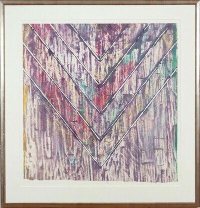 Kenneth Noland, 'Untitled, Chevron', 1983