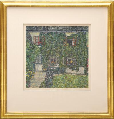 Gustav Klimt, 'Haus im Garten', 1931