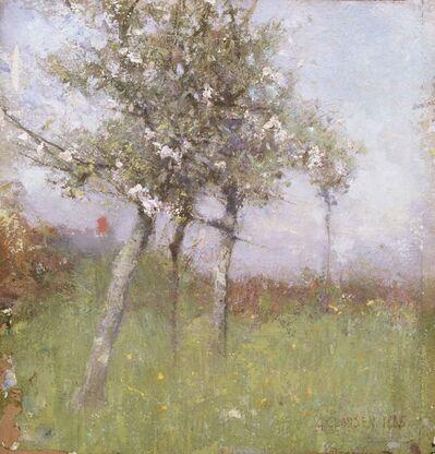 George Clausen, 'Apple Blossom', 1885