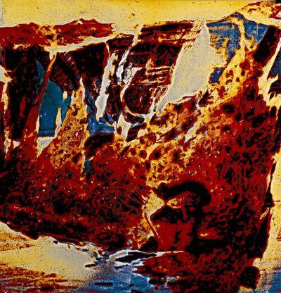 Nino Migliori, 'Leonessa, Trasfigurazione', 2003
