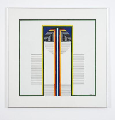 Ibrahim El-Salahi, 'Palm Tree', 2001