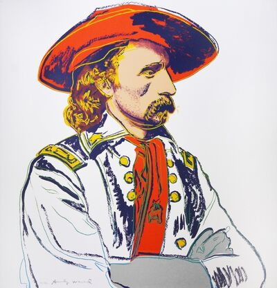 Andy Warhol, 'Andy Warhol, General Custer, 1986', 1986