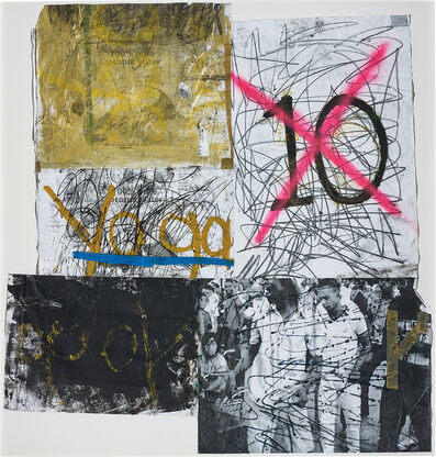 Oscar Murillo (b. 1986), 'Postures (New Years resolution 2011-12 series)', 2011-2012