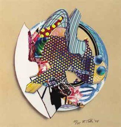 Frank Stella, 'Iffish', 1998